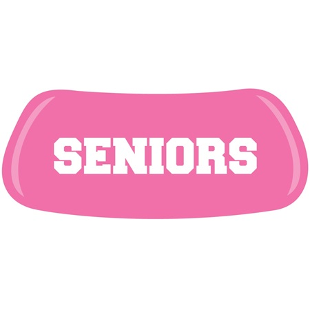 Pink SENIORS EyeBlacks