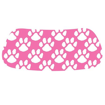 Pink/White Paws EyeBlack