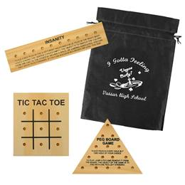 Wooden Brain Teasers Game Set