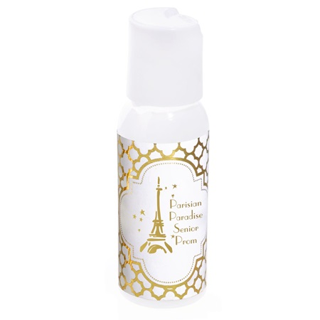 Hand Lotion with Metallic Foil Label - Arabesco