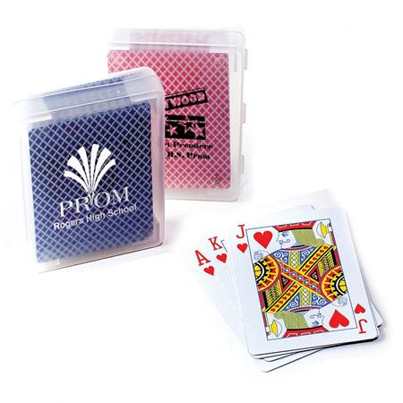 Playing Cards With Custom Case