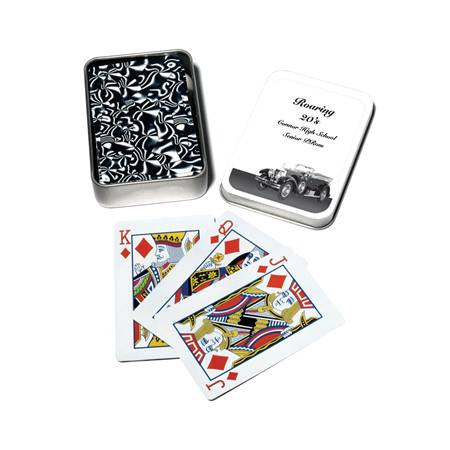Full-Color Playing Cards Tin