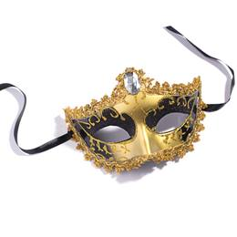 Gold and Black Mask