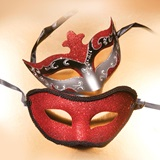 Red/Silver Mask Set