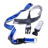 Pattern Edge Lanyard - Buckle and Split Ring