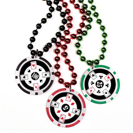 Poker Chip Necklace