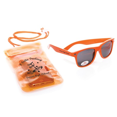 Sunglasses and Waterproof Pouch Set