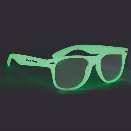 Custom Glow in the Dark Sunglasses