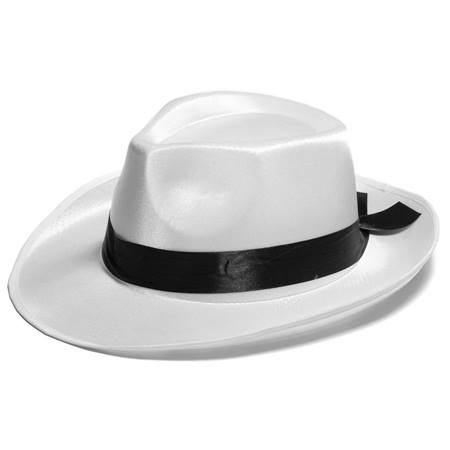 White Silk Fedora