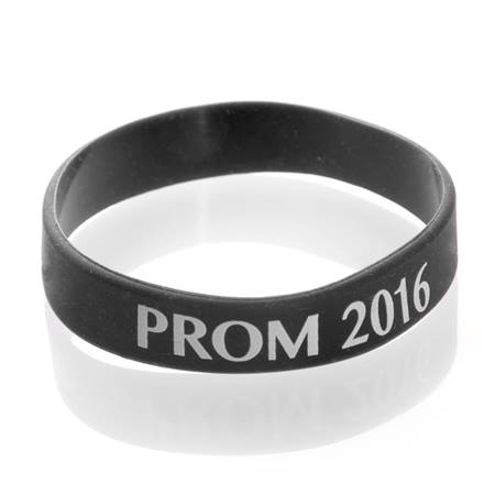 Prom 2017 Wristband - Black/White
