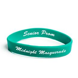 Custom Two-sided Wristband - Green