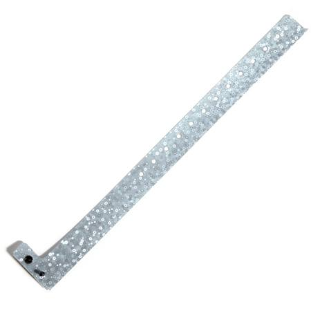 100 pc. Liquid Glitter Wristband Value Pack - Silver