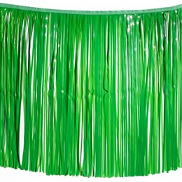 "30"" Vinyl Fringe - Grass Green"