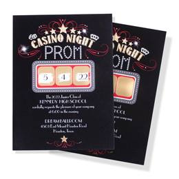 Scratch-off Invitation - Vegas Date