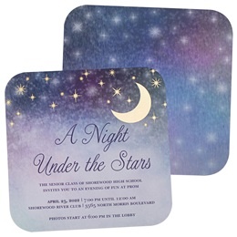 Star Gazing Invitations