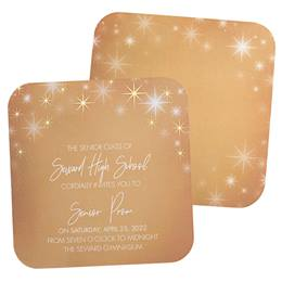 Golden Cosmos Invitations