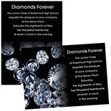 Full-color 5x7 Invitation - Diamond Sparkle