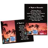 Full-color 5x7 Invitation - Florida Sunset