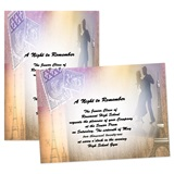 Full-color 5x7 Invitation - Paris Romance