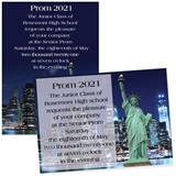 Full-color 5x7 Invitation - Lady Liberty