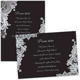 Custom Full-color 5x7 Invitation - Lovely Lace