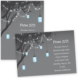 Full-color 5x7 Invitation - Garden Lights