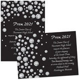 5x7 Invitation - Diamond Circles