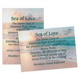 Ocean Dreams 5x7 Invitation