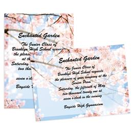 Blossom Branches 5x7 Invitation