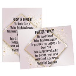 Star Solitaire 5x7 Invitation