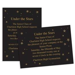 Star Sparkles 5x7 Invitation
