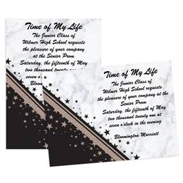 Night and Day Stars 5x7 Invitation