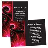 "Electric Paisley 4"" x 6"" Invitation"