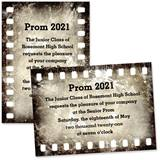 "Vintage Filmstrip 4"" x 6"" Invitation"