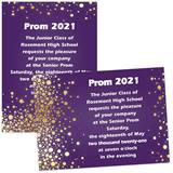 "Gold Glitter Dust 4"" x 6"" Invitation"