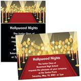 Red Carpet 4 x 6 Invitations