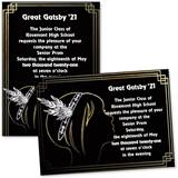 Fancy '20s Girl 4 x 6 Invitations