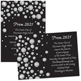 Diamond Circles 4 x 6 Invitations