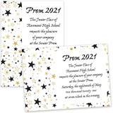 Star Sprinkles 4x6 Invitation