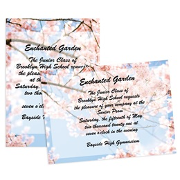 Blossom Branches 4x6 Invitation