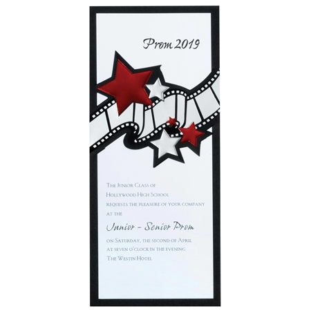 Filmstrip Star Invitation