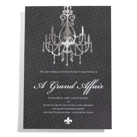 Grand Chandelier Invitation