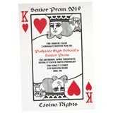 King of Hearts Invitation