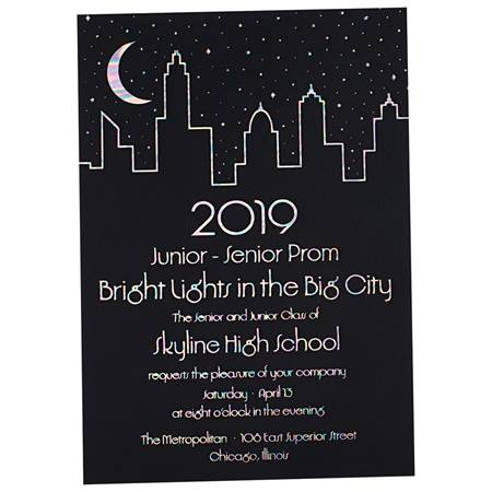 Skyline Shine Invitation