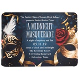 Midnight Masks Invitation