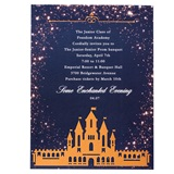 Golden Gleam Castle Invitation