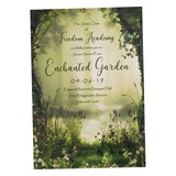Ornate Garden Gate Invitation