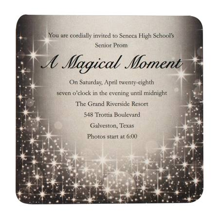 starlight sparkle invitation prom nite