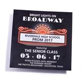 Broadway Marquee Invitation
