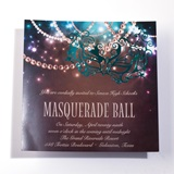 Masquerade Pearls Invitation